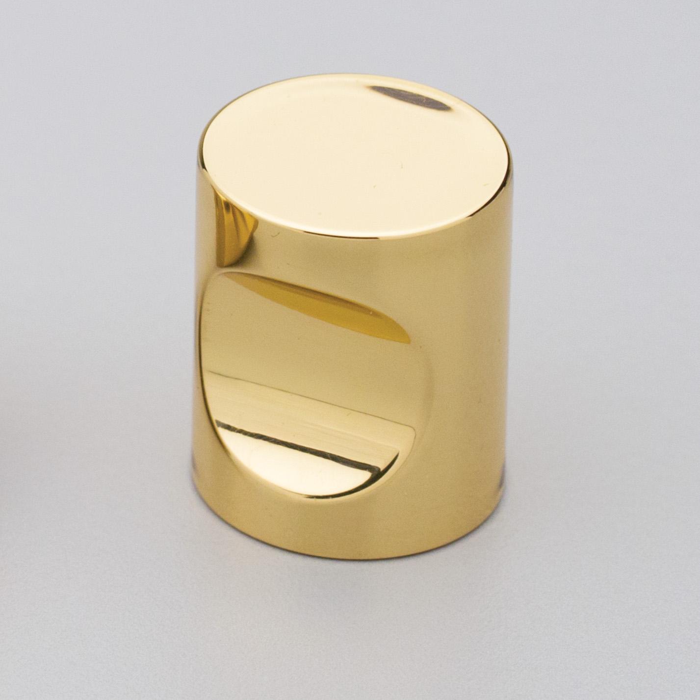 BK4320 Polished Brass Knob