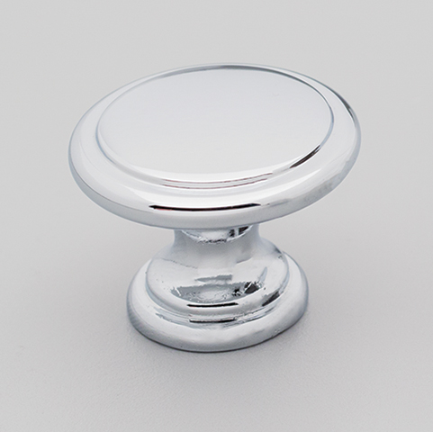 Die Cast Knob DK1357 Polished Chrome Finish