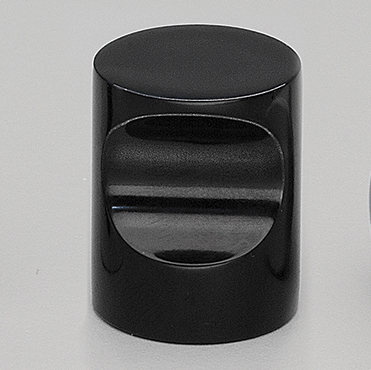 Cabinet Knobs F402 Cylinder Black