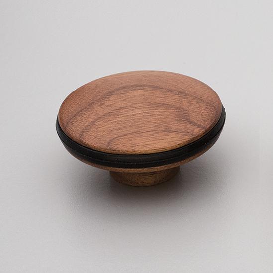 Walnut Timber Orbit Knob L4313