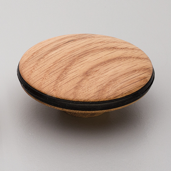 L4313 Orbit Wood Knob Oak