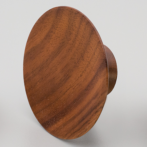 L4314 Timber Wood Knob Olympia Walnut