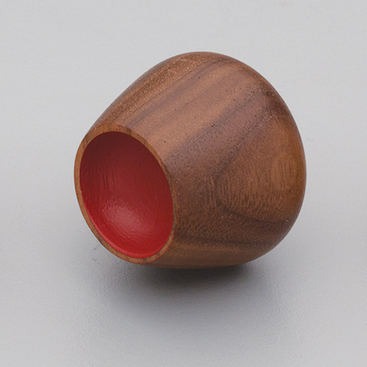 L4396 Timber Flower Bud Knob Walnut & Red