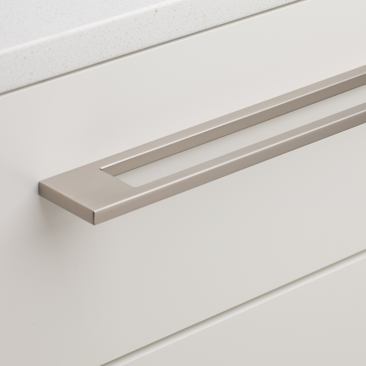 Brushed Nickel L815 Keyline Handle installation
