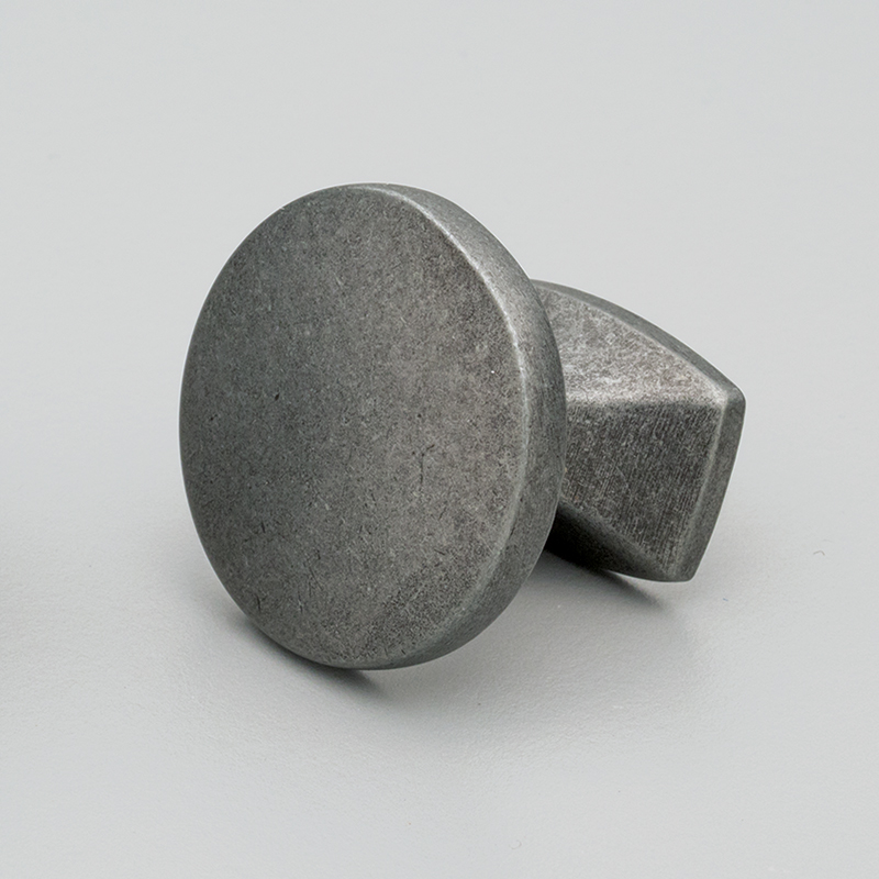 L835 Hampton Round Knob Rustic Grey