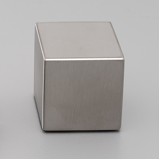 S320 Satin Stainless Steel Square Knob