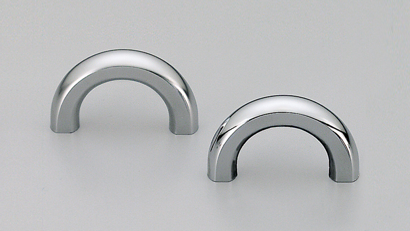 B230 small half circle handle for Kitchen handles, cabinet handles, cabinet hardware, kitchen cabinet handle, vanity handle, furniture handle, kitchen hardware, cupboard handles.