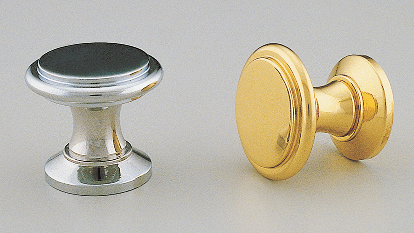 BK41_TOWER TOWER round knob raised flat top : Kethy
