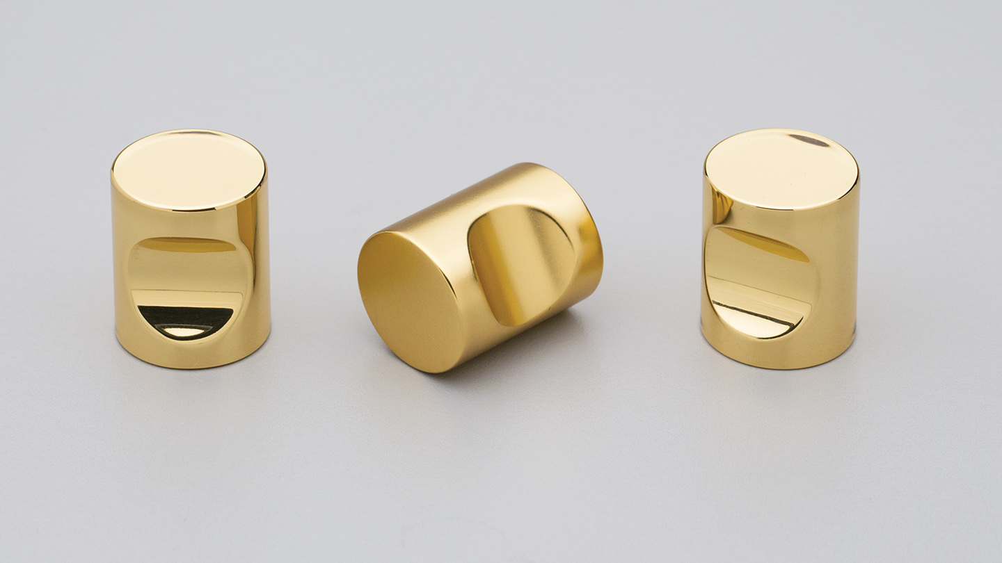 BK4320 brass cylinder knob indented finger grip for Kitchen knobs and handles, kitchen cabinet knobs and handles, vanity knobs and handles, bathroom knobs and handles, kitchen cupboard knobs and handles, kitchen hardware, matt black knobs and handles, cabinet hardware