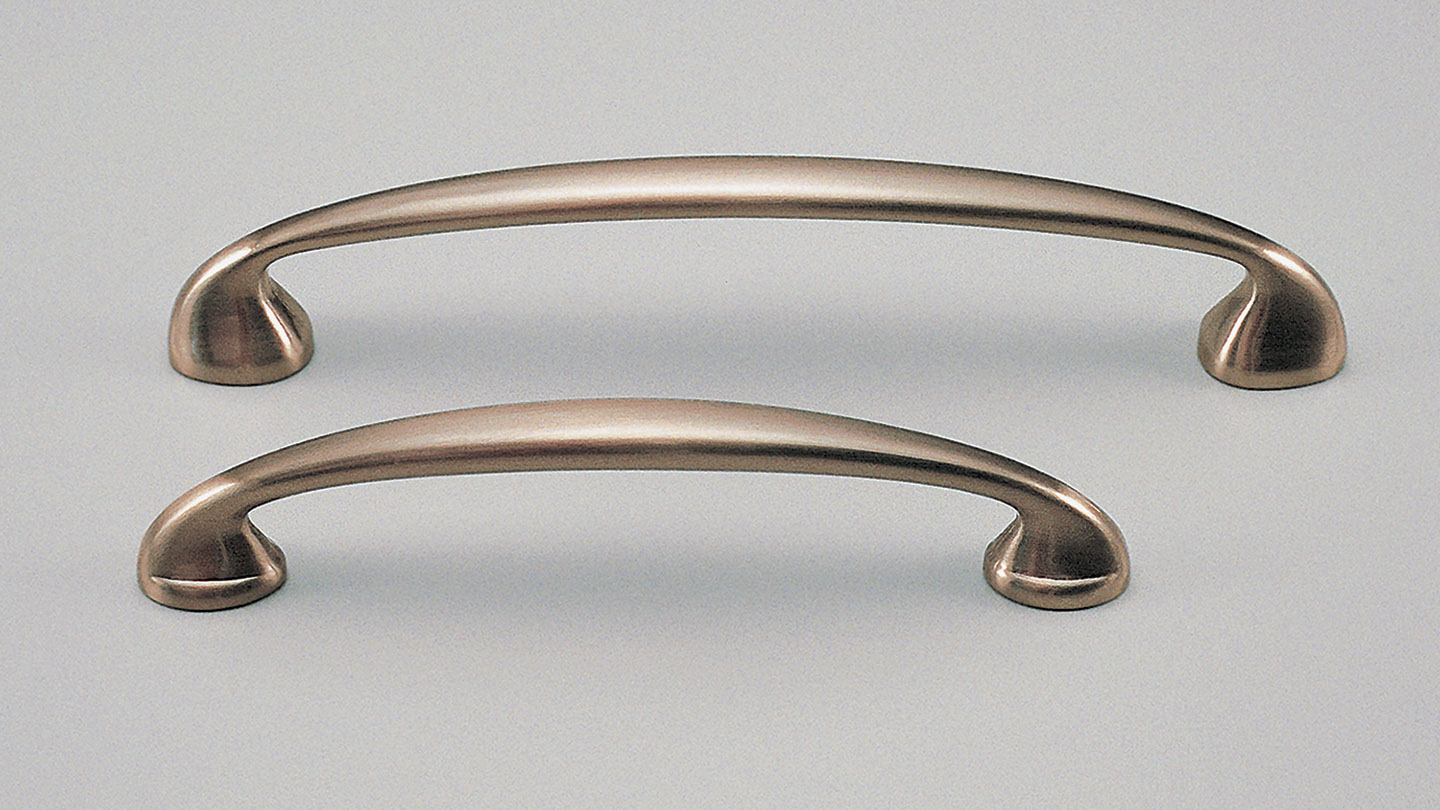 D210 wide footed bow handle for Kitchen handles, kitchen cabinet handles, vanity handles, bathroom handles, kitchen hardware, matt black handles, cabinet hardware