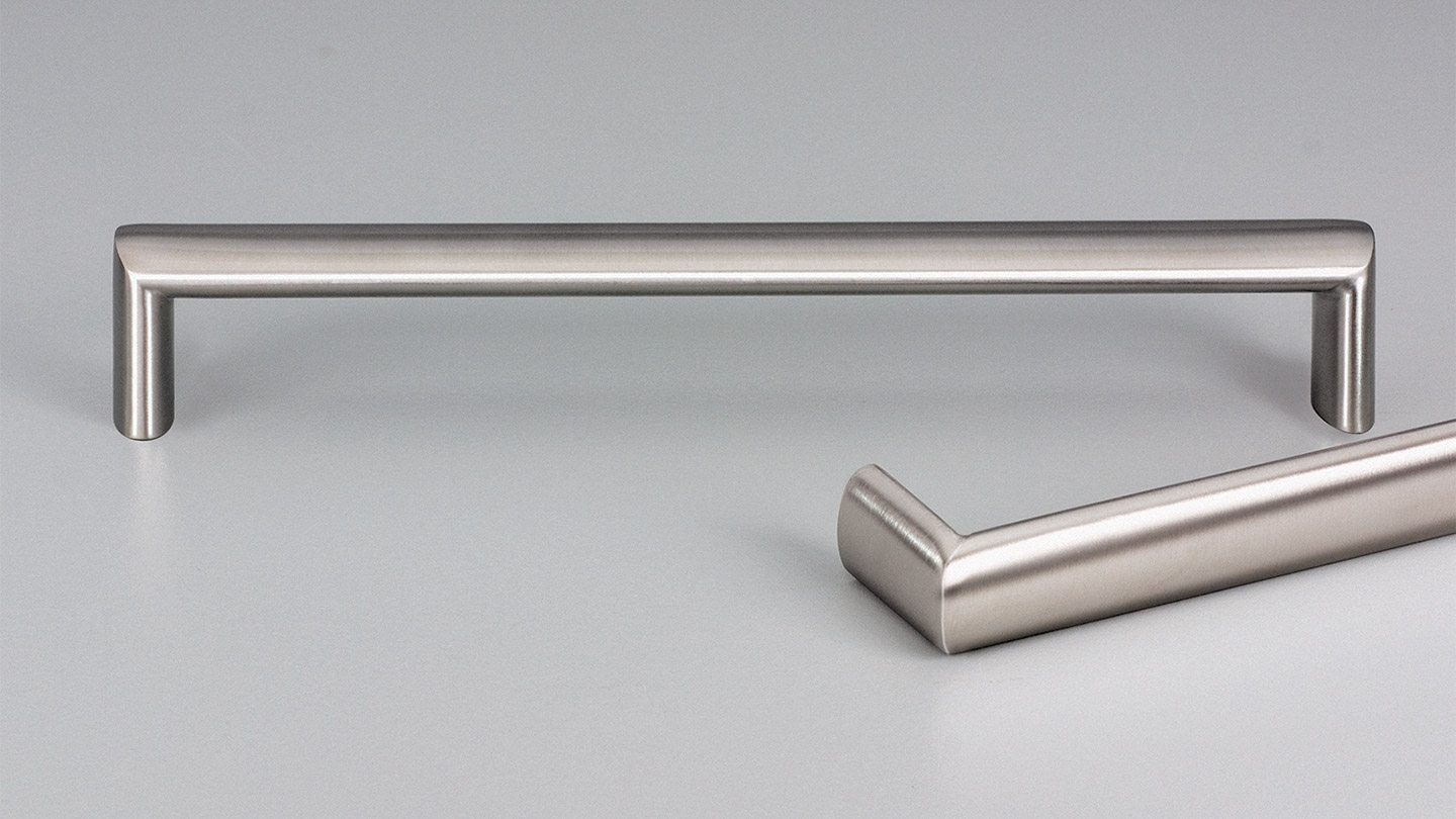 E2131 stainless D handle 20mm oval section for Kitchen handles, cabinet handles, cabinet hardware, kitchen cabinet handle, vanity handle, furniture handle, kitchen hardware, cupboard handles.