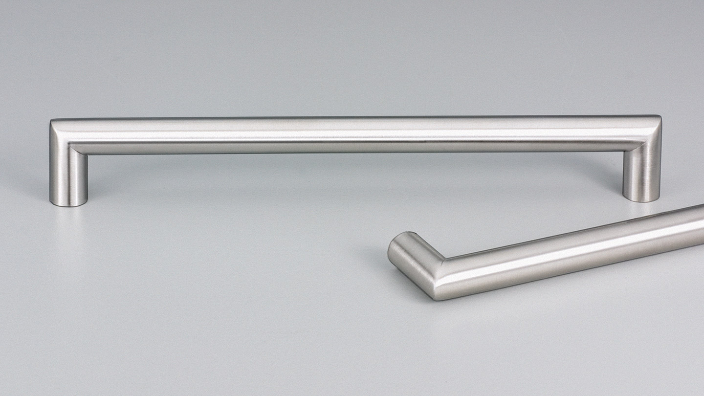 E5023 LECCO stainless D handle 12.7mm round section  : Kethy