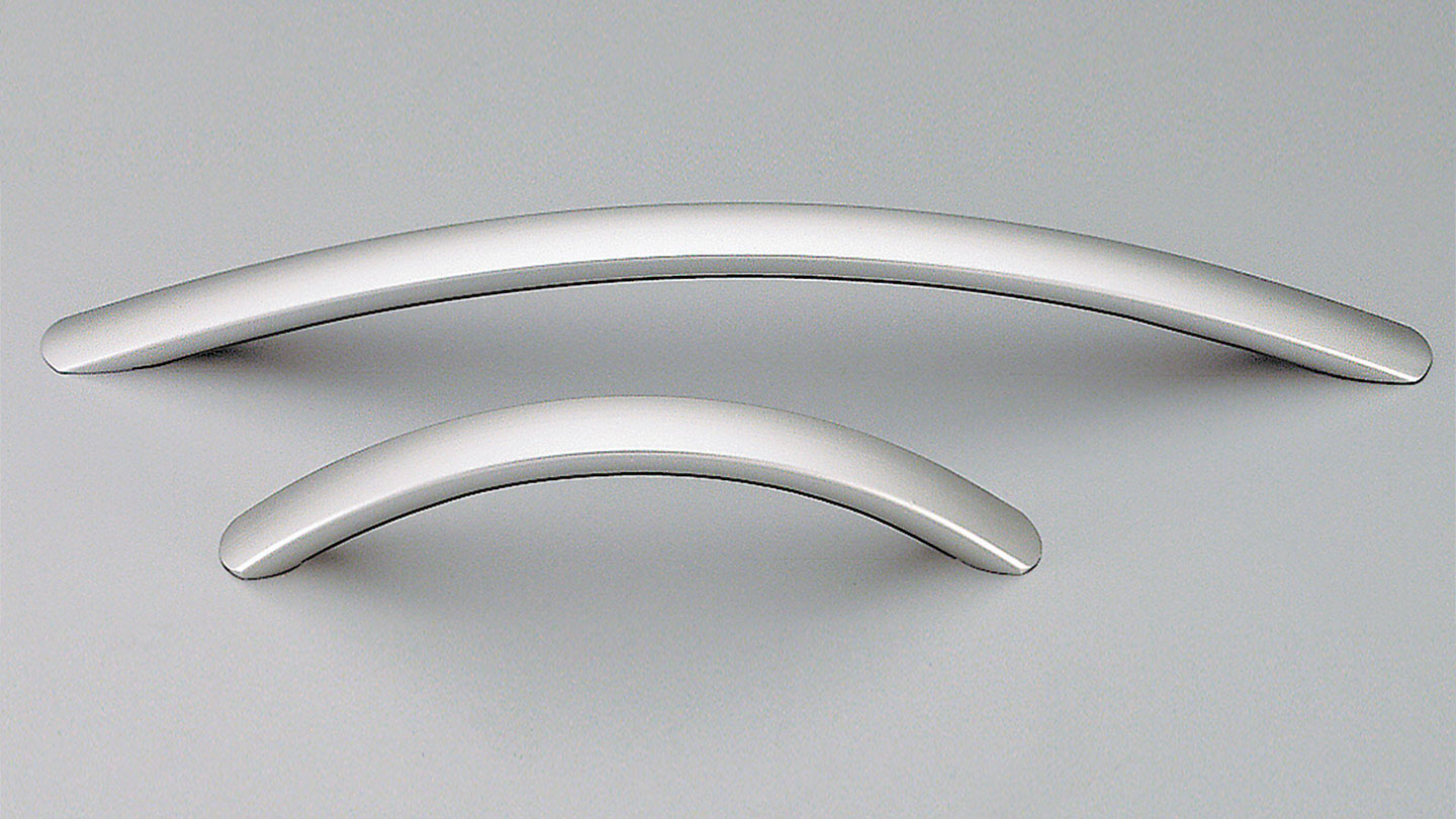 F133 bow handle 16mm oval section for Kitchen handles, kitchen cabinet handles, vanity handles, bathroom handles, kitchen cupboard handle, kitchen hardware, matt black handles, cabinet hardware