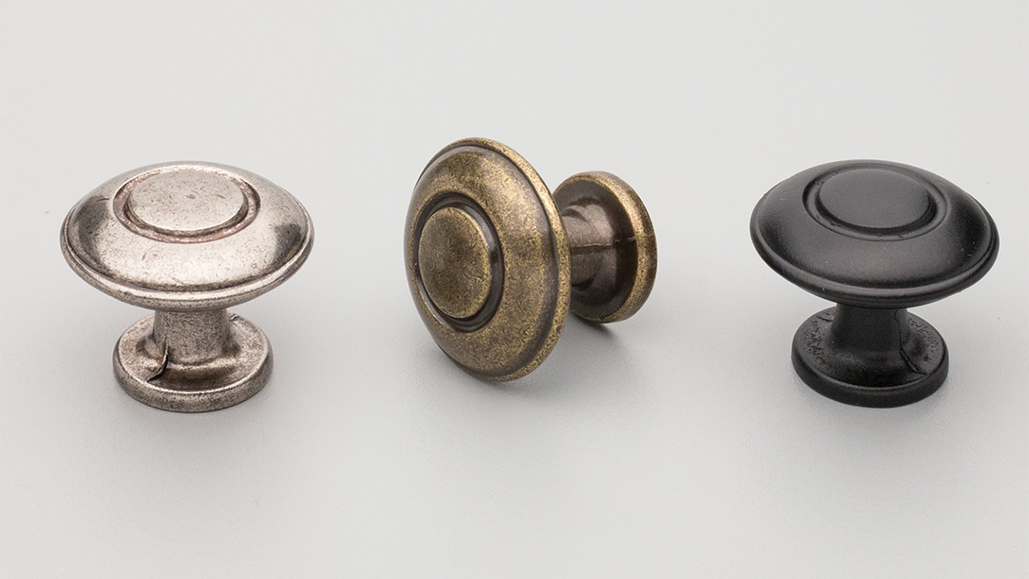 HT208 Hampton / Shaker round knob for Kitchen knobs and handles, kitchen cabinet knobs and handles, vanity knobs and handles, bathroom knobs and handles, kitchen cupboard knobs and handles, kitchen hardware, matt black knobs and handles, cabinet hardware