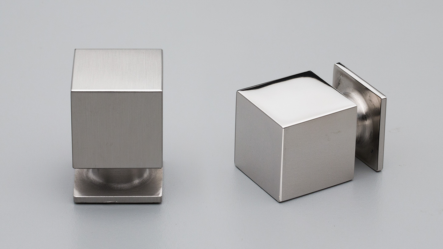 25mm x 25mm Sq S/Steel Cube with Base