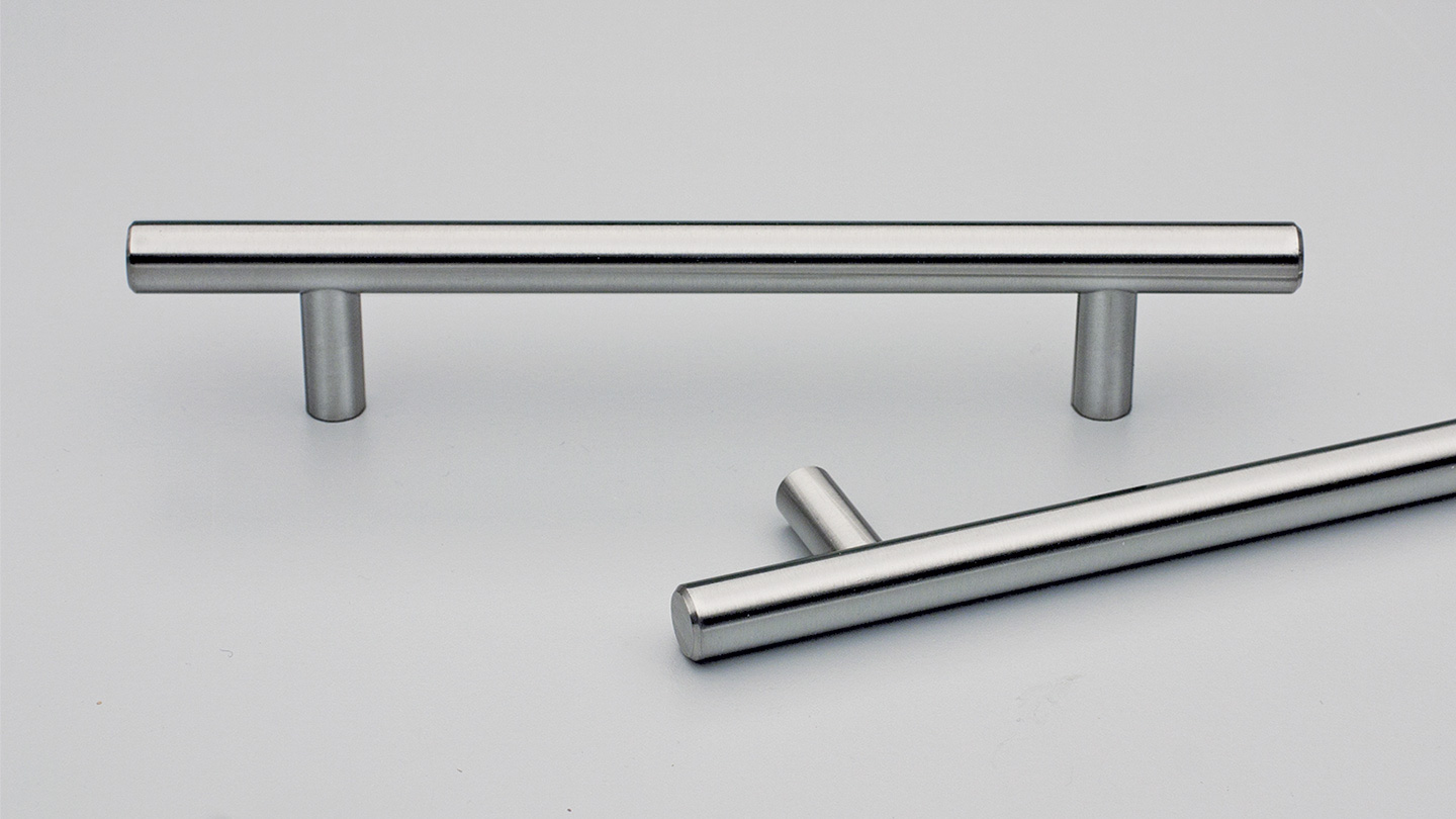 S135 BAZEL stainless rail handle 12mm round section : Kethy