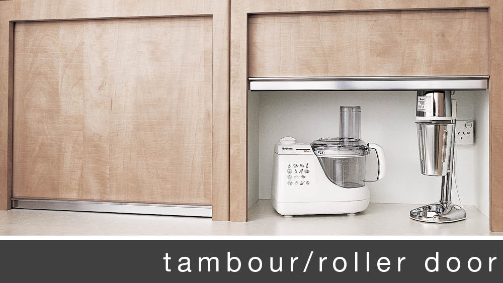 TAMBOUR DOOR vertical cabinet roller door custom sizes for kitchen,bathroom,bedroom,furniture colours wide range of vinyls, laminates and veneers plus raw MDF, please enquire mm